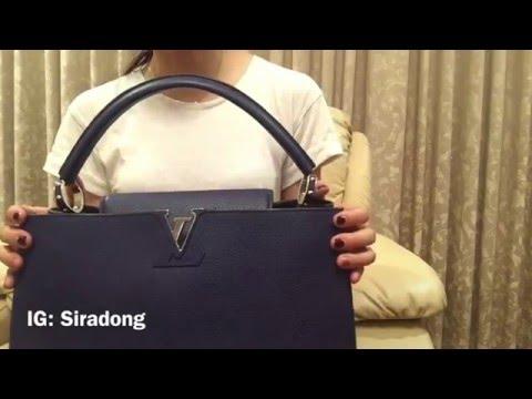 Review: Louis Vuitton capucines mm & bb