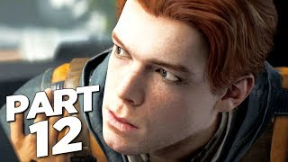 STAR WARS JEDI FALLEN ORDER Walkthrough Gameplay Part 12 - RABID JOTAZ BOSS (FULL GAME)