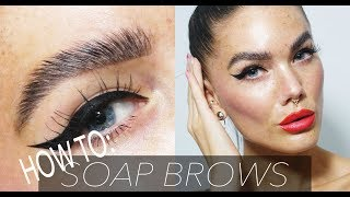 HOW TO DO SOAP BROWS | Linda Hallberg