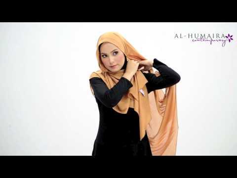 COLYNN shawl styling tutorial by Al-Humaira Contemporary