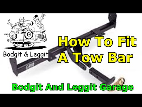 How To Fit A Car Towbar 2009 Ford Focus Part1