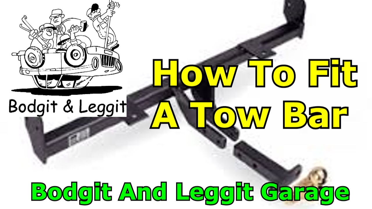 ford focus mk2 towbar wiring diagram dremel 4000 parts mod how to fit a car 2009 part1 youtube