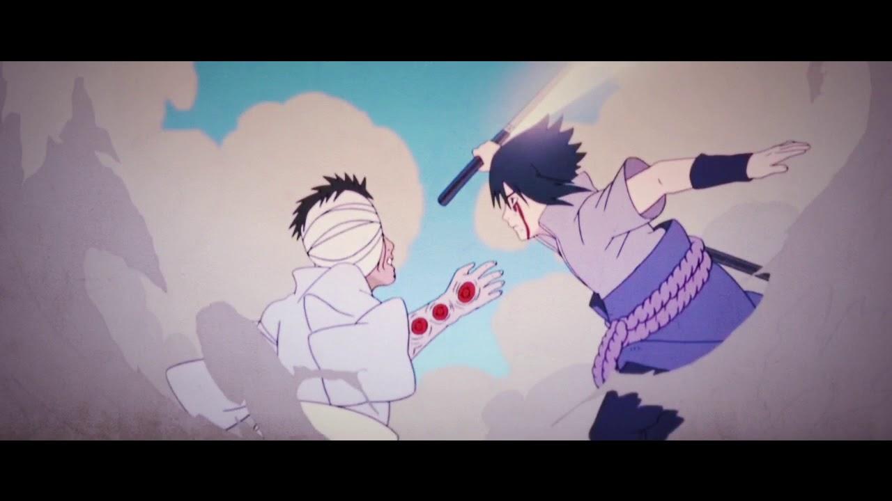 Друзья помогите, в какой серии битва саске и данзо?