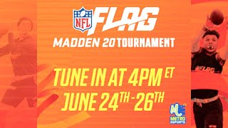 NFL Flag Players Compete in Madden Tournament! (Day 3)