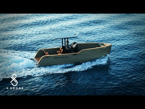 electric boat builder X shore champions emission-free sailing