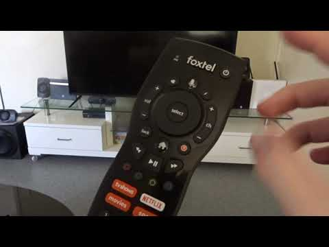 How to turn the lights off on the Foxtel iq4 remote