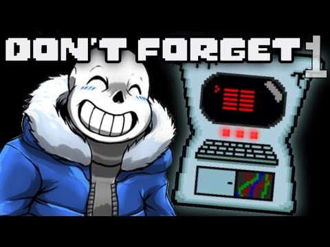 СЕКРЕТНАЯ МАШИНА ГАСТЕРА ► Don't Forget. Undertale |1|