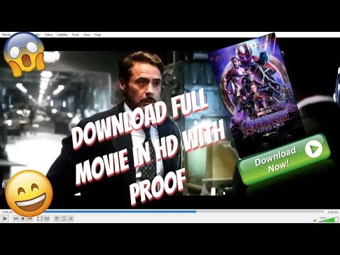 [Hindi] How To Download Avengers Endgame Full Movie In Hindi | Not Fake 100% Proof !