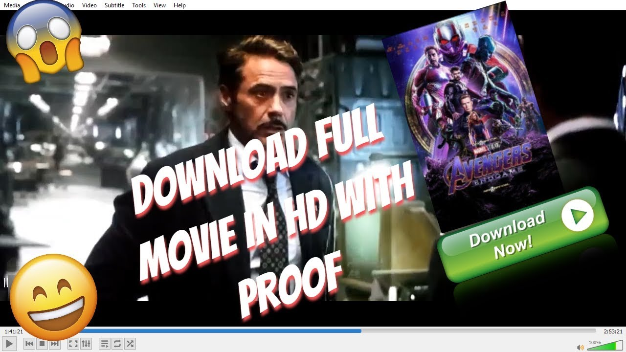 Download [Hindi] How To Download Avengers Endgame Full Movie in Hindi | Not Fake 100% proof !