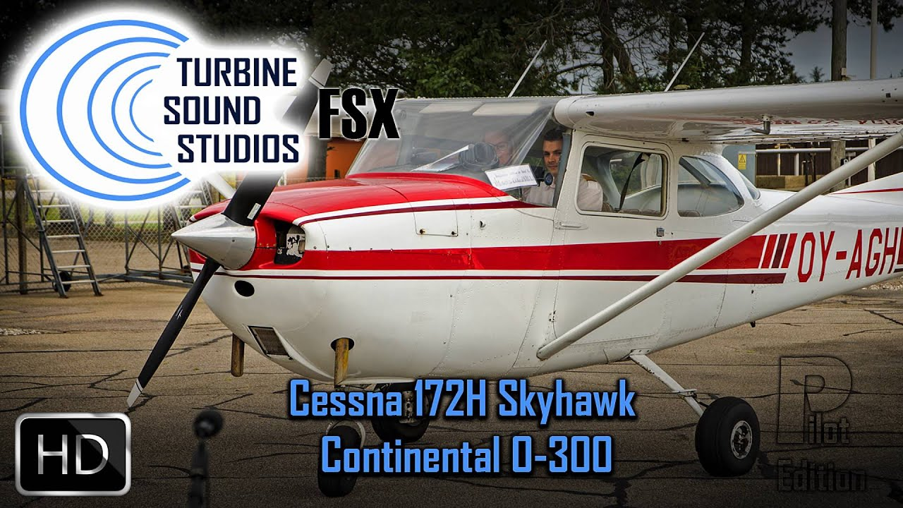 TSS - Cessna 172 HD Sound Pack for FS2004