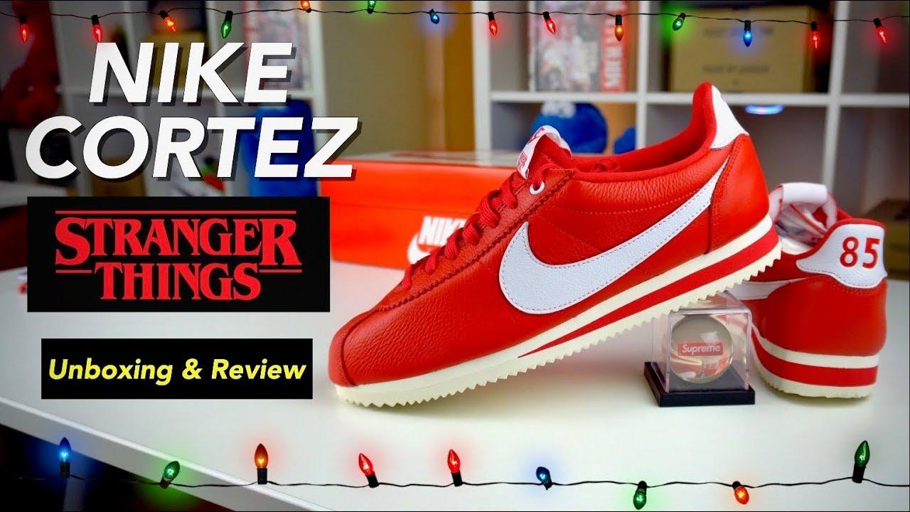 Nike Stranger Things Cortez Unboxing