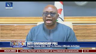 Fayose Raises Alarm Over Alleged Rigging Plans