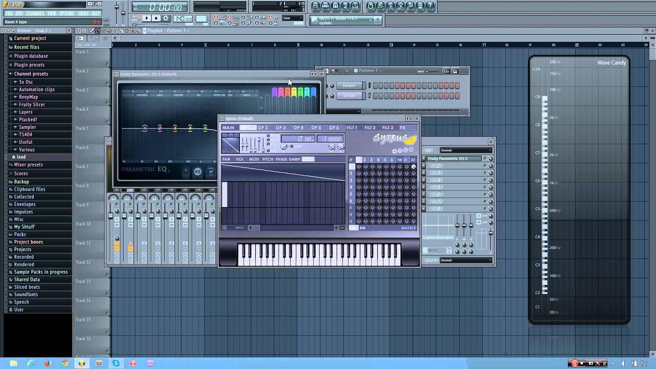 FL Studio Tutorial: How to Make a Powerful, Fat Sub Bass