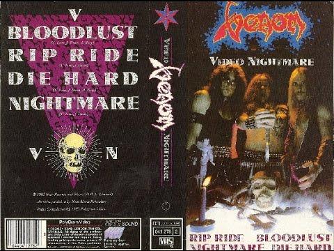 VENOM Video Nightmare (Video,1985)...