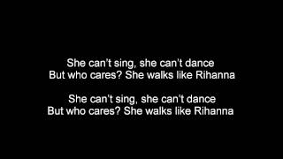 The Wanted - Walks Like Rihanna - Lyrics
