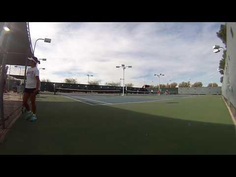 Gracie favela tennis
