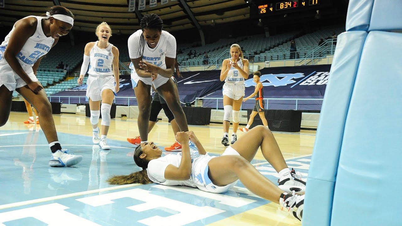 Video: UNC Women's Basketball Takes Down No. 18 Syracuse, 92-68 - Highlights