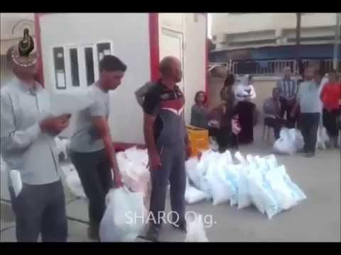 SHARQ distributes food baskets for Iraqi Christian IDPs