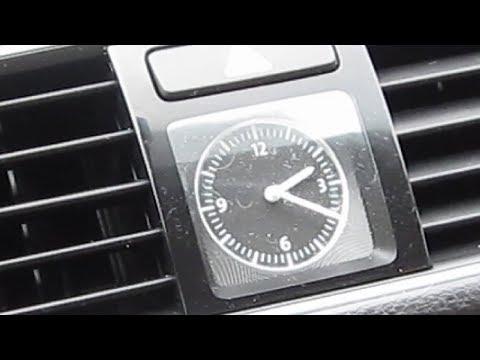 How To Set Clock - VW Passat