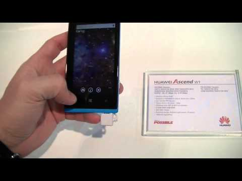 Huawei Ascend W1 - Preview #MWC13