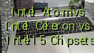 Intel Atom vs Intel Celeron - Startup & Explorer Comparison