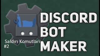 Basit Herkezi Banla Saldırı Komutu | Discord Bot Maker Basit Saldırı Komutları #2