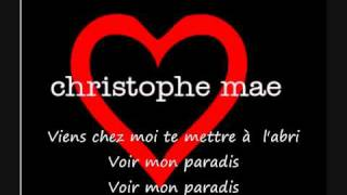 Watch Christophe Mae Mon Paradis video