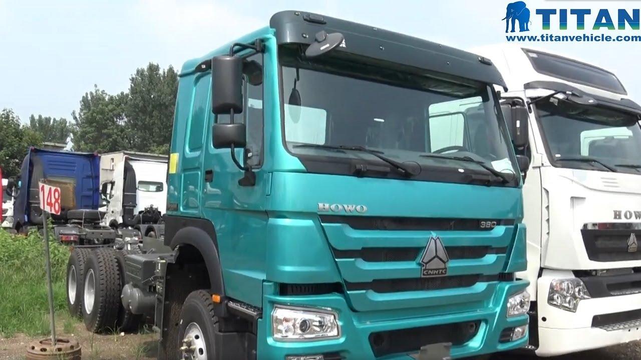 China China sinotruk Howo 6x4 371hp 420hp Trailer Truck