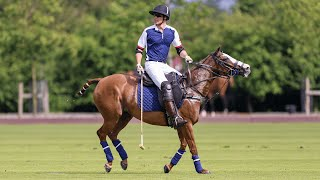 video: Duke of Cambridge's speed on the polo field draws comparison with Jack Grealish