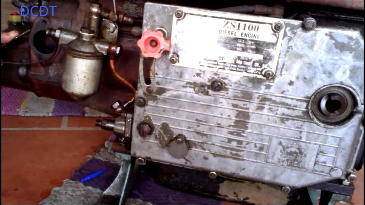 Hướng dẫn sử dụng động cơ diesel D16 -Phần 16 :Ráp bơm cao áp vào máy.