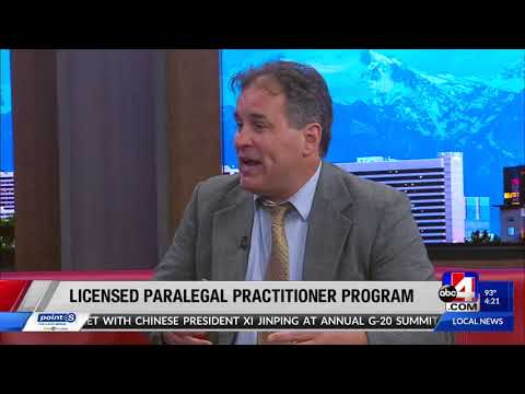 New Utah Licensed Paralegal Practitioner Program [VIDEO]