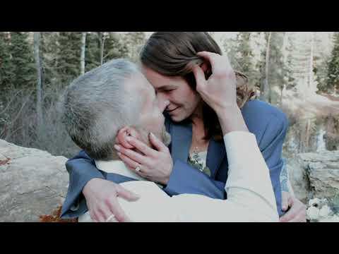 Holly & Scott   Whitefish, MT   Mountainside Weddings