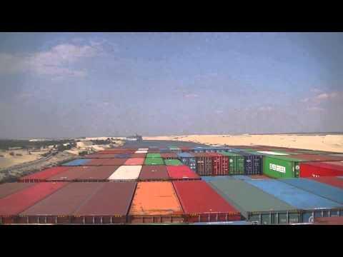 Hanjin Miami Suez Canal Passage