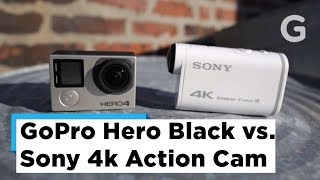 Test Footage: GoPro Hero 4 Black vs Sony 4K Action Cam