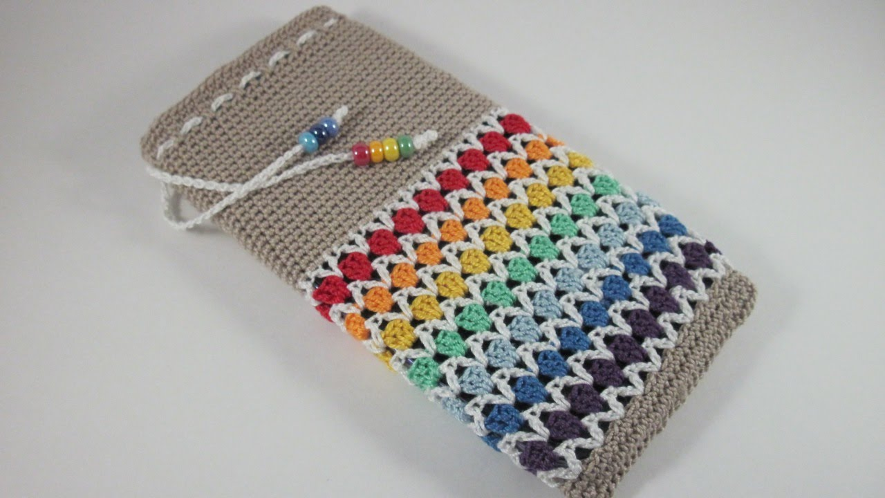 How To Make A Cute Crochet Phone Case Diy Technology Tutorial