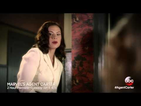 Agent Carter Gets Ready for Work - Marvel's Agent Carter Season 1, Ep. 1 – Clip 1