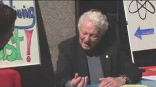 Street Corner Science with Nobel Prize winner Dr Leon Lederman