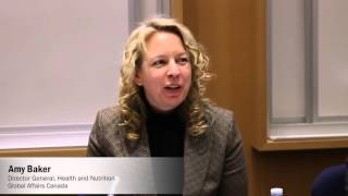 2015 Global Nutrition Report Canadian Launch: Panel Discussion