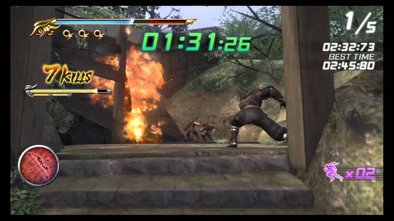 Ninja Gaiden Sigma 2 Plus Ninja Race Course 1 Youtube