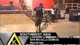 Bikes Over Baghdad - BMX Riders Deploy
