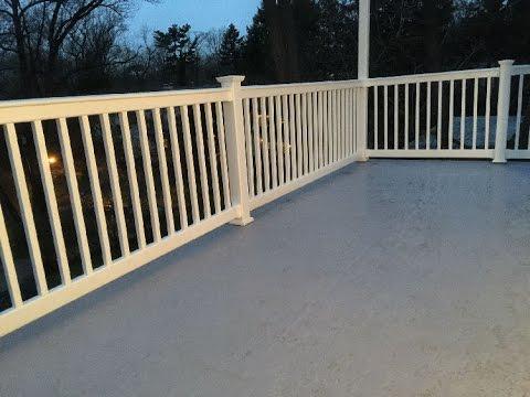 Fiberglass Roof Deck Delaware County Pa Youtube