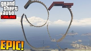 100 imposible acrobacia sper dificil gameplay gta 5 online funny moments gta v ps4