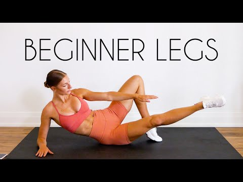 15 MIN BEGINNER LEG WORKOUT (Booty, Thighs & Hamstrings / No Equipment)