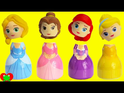 Thumbnail: Disney Princess Wrong Heads with Paw Patrol Finding Dory Surprises