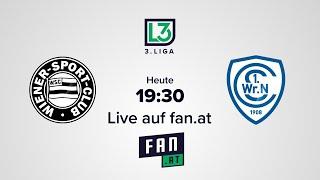LIVE: Wiener Sport-Club - 1. Wiener Neustädter SC