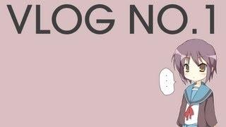 Vlog No.1 - 11/29/2012 - Kick Ass And Some Anime Talk