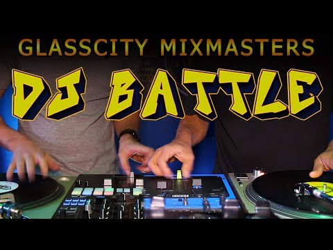 DJ BATTLE ROUTINE MIX OFF 2019 Glass City Mix Masters