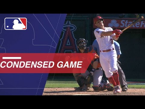 Condensed Game: HOU@LAA - 7/22/18