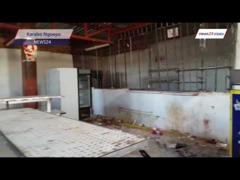WATCH: Nothing remains in looted Soshanguve spaza shops