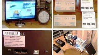 Тест - ИБП (UPS) на (GEL) гелевых аккумуляторах